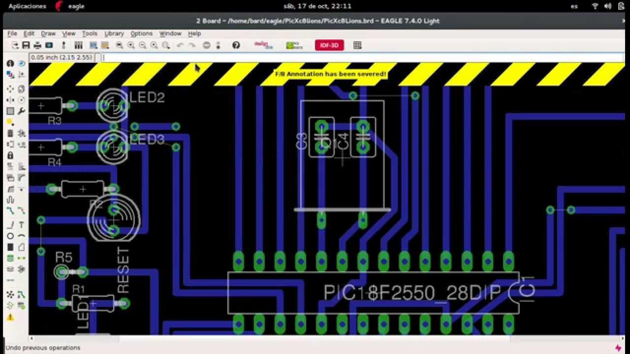 Descargar E Instalar Eagle CAD 7.5 y Versiones Anteriores En Linux y ...