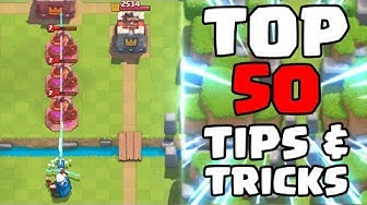 Top 50 Tips & Tricks in Clash Royale | Ultimate Clash Royale Pro Guide