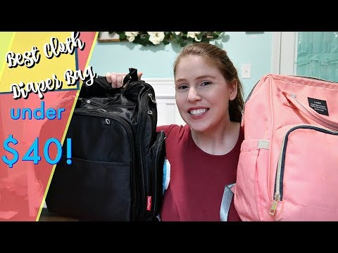 WHATS IN MY DIAPER BAG!? | Mom Review