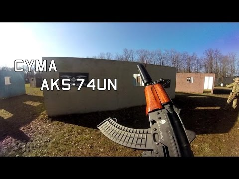 Zulu24 Airsoft 12.27.14 CYMA AKS-74UN Gameplay