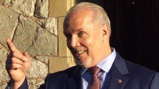 B.C. NDP leader John Hogan will be province's next premier