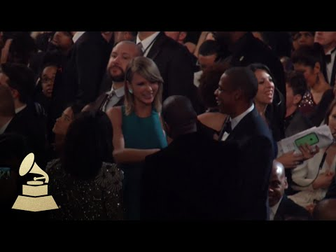 Taylor Swift, Kanye West And Jay-Z In The GRAMMY Audience | GRAMMYs
