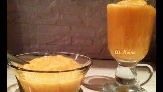 Смузи из моркови с яблоком и бананом/Просто и вкусно