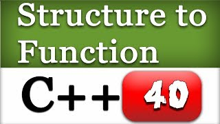 40   passing structure to functions by value pointer address   c video tutorials for beginners