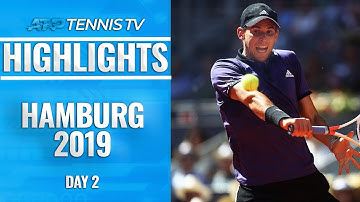 Thiem, Zverev & Fognini on FIRE as all advance easily | Hamburg 2019 Highlights Day 2