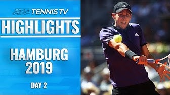 Thiem, Zverev & Fognini on FIRE as all advance easily | Hamburg 2019 Highlights Day 2
