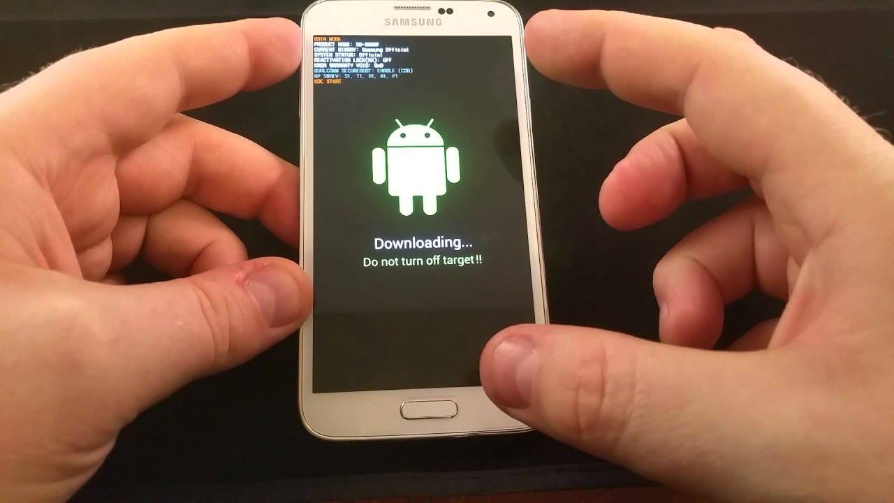 Galaxy S5 Rooten