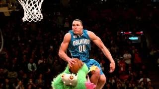 Awesome slow motion of aaron gordon's 2016 slam dunk contest!