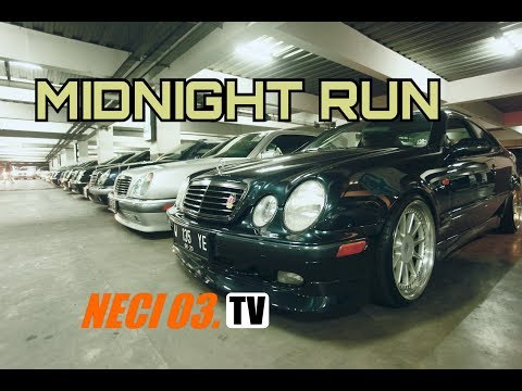 MIDNIGHT RUN - NECI 03 - MB W210 Club Of Indonesia - Bandung Chapter