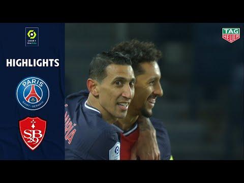 PSG Brest Goals And Highlights