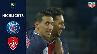 PARIS SAINT-GERMAIN - STADE BRESTOIS 29 (3 - 0) - Highlights - (PSG - SB29) / 2020-2021