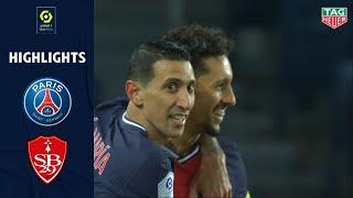 <b>PARIS SAINT-GERMAIN</b> - STADE BRESTOIS 29 (3 - 0) - Highlights ...
