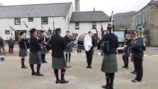 Portree Pipers on the Isle of Skye