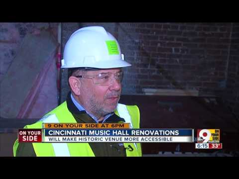 Cincinnati Music Hall made more accessible