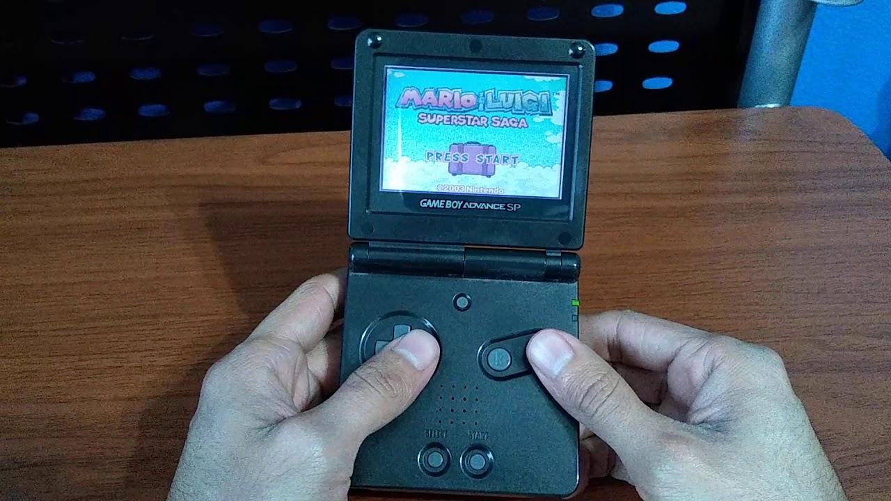 Unboxing De Ebay Mario Luigi Superstar Saga Game Boy Advance