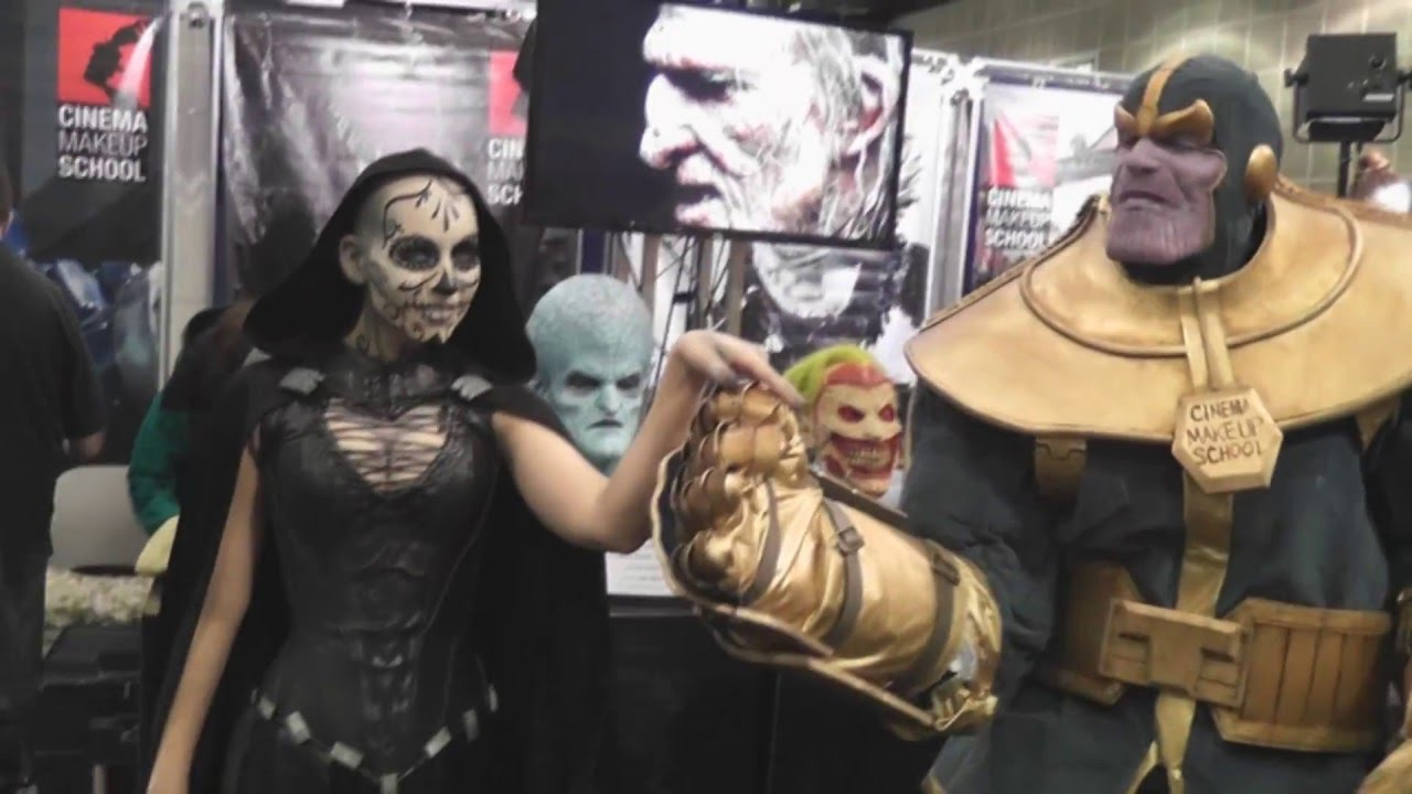 Special FX Makeup Artists Cosplay at WonderCon 2016 for Cinema ...