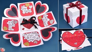 Valentine Special !! Love Greeting Card || Diy || Valentine's Day Gift Idea
