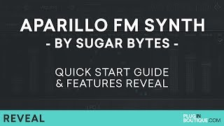 Sugar Bytes APARILLO | Cinematic FM Synth Tutorial