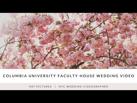 Columbia University Faculty House Wedding Video - Amy & Daniel - NYC wedding video