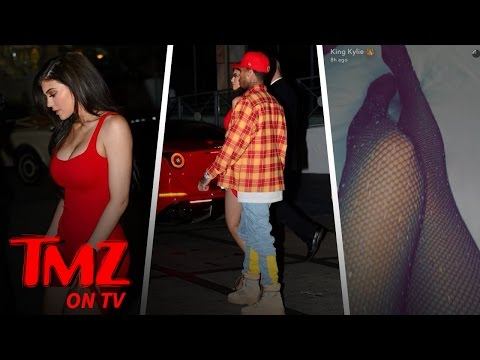 Kylie Jenner: See Her Looking Good! From Red Hot Mini To Sheer Sparkly Fishnets!