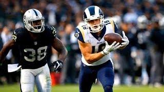 Cooper Kupp vs Raiders (Preseason Week 2) - 6 Rec, 70 Yards + TD!   2017-18 NFL Highlights HD