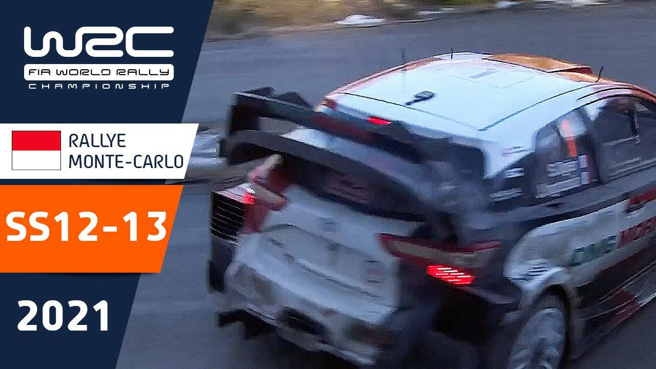 WRC - Rallye Monte-Carlo 2021: HIGHLIGHTS Stages 12-13