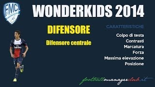 Wonderkids 2014 - Difensore Centrale - Football Manager 14 - Ita (by FMC)