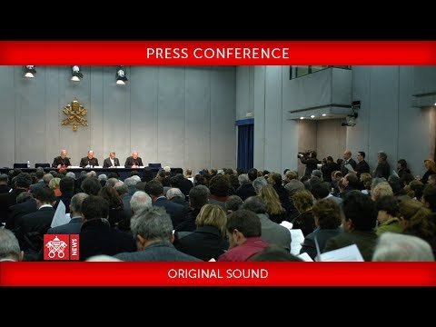 Press Conference – Holy Father's Message for Lent 2018.  2018-02-06