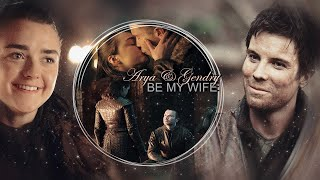 Game of Thrones 8x04  Arya and Gendry   Can You Hold Me  Арья и Джендри  Gendry Proposes Marriage