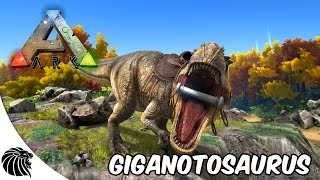 ARK Survival Evolved - Update Giganotosaurus - Godzilla