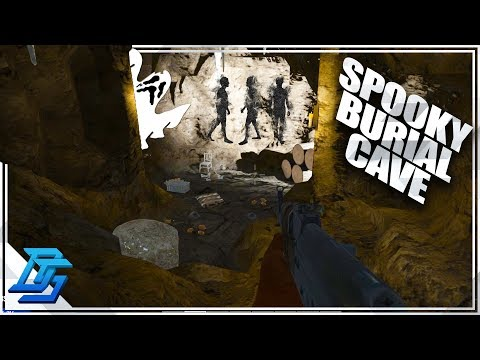 Spooky Burial Cave, Demo & Boom Alone!  - 7 Days To Die - S2- Pt. 43 (Alpha 16)