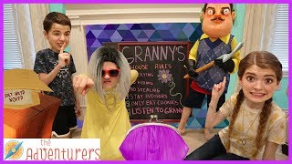 Escape Granny And Hello Neighbors House That YouTub3 Family