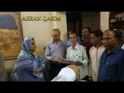 FUZAIL RAFI GRAND SON TALKS ABOUT MOHAMMED RAFI SAHAB  & AHSAN QASIM IN RAFI MANSION