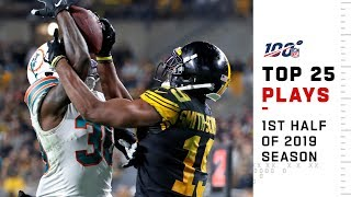 Top 25 Plays from 1st Half of the 2019 Season | NFL Highlights