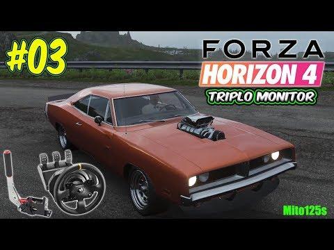 Forza Horizon 4 Drift #03 General Lee + Triplo Monitor + Thrustmaster Tx thumbnail