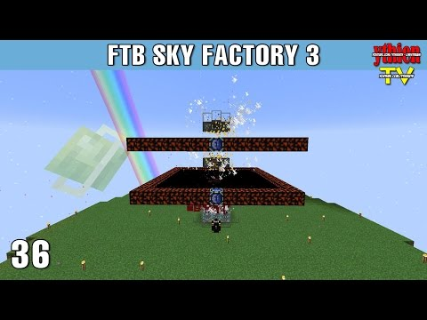 FTB Sky Factory 3 36 - Enderman và Wither Skeleton Farm