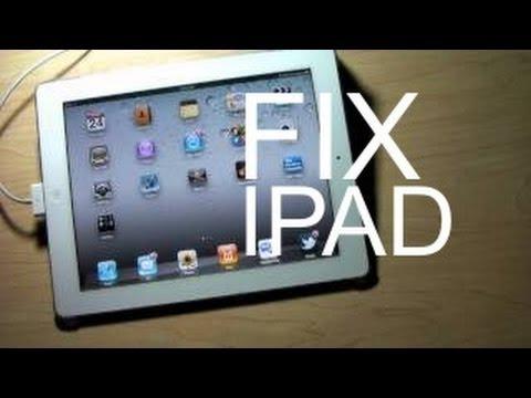 HOW TO FIX IPAD CHARGING PROBLEM USB PORT CHARGE