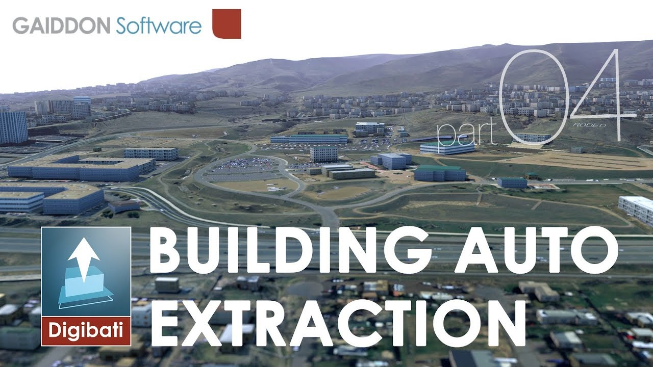 04 - Building footprint automatic extraction