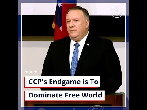 U.S. Department of State: The Chinese Communist Party's Endgame is to Dominate the Free World