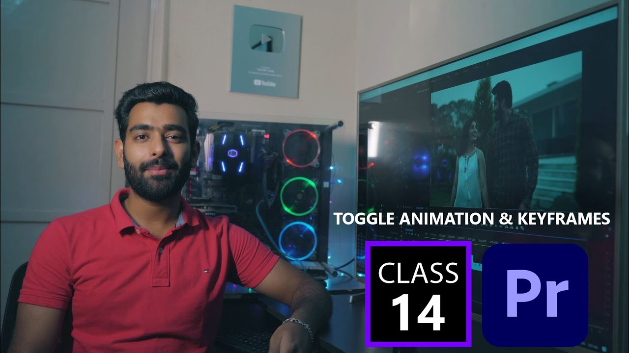 TOGGLE ANIMATION & KEYFRAMES || In Premiere Pro CC || Full Tutorial || Class 14