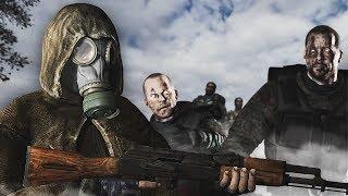 РЕЖИМ ПОСЛЕДНИЙ РУБЕЖ ДЛЯ ВОЙНЫ ГРУППИРОВОК #2. STALKER Call of Chernobyl ВЕЛИКАЯ ВОЙНА