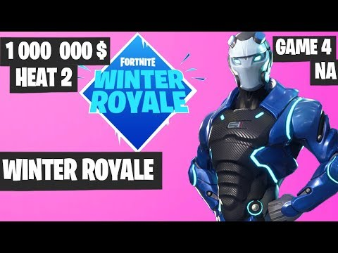 Fortnite Winter Royale Semifinal Heat 2 Game 4 NA Highlights [Fortnite Tournament 2018]