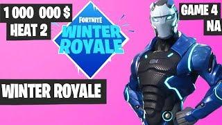 Fortnite Winter Royale Semifinal Heat 2 Game 4 NA Highlights [Fortnite Tournament 2018]