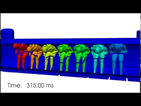 Simulation of H.L. Hunley Crew Response to Underwater Explosion