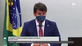 Câmara no combate ao coronavírus - Agosto 2020 - Comissão de Enfrentamento à Covid - Situação dos medicamentos para intubação - 13/08/2020