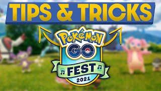 Pokemon GO Fest 2021 Tips & Tricks