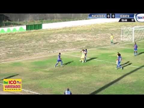 Campeonato Cearense B | Pacatuba 0 x 0 Iguatu