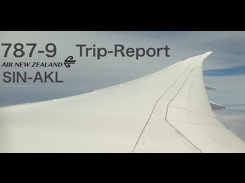 NZ281 | 787-9 | SIN-AKL | Air New Zealand | Trip-report