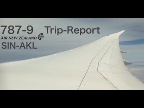 NZ281 | 787-9 | SIN-AKL | Air New Zealand | Trip-report