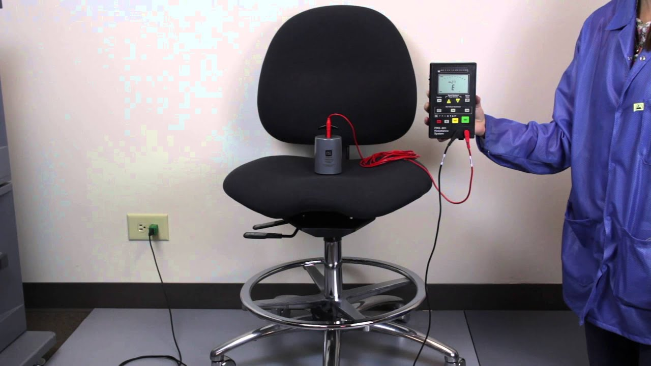 Captivating Measure The Resistance Of An ESD Chair Per ANSI/ESD STM12.1